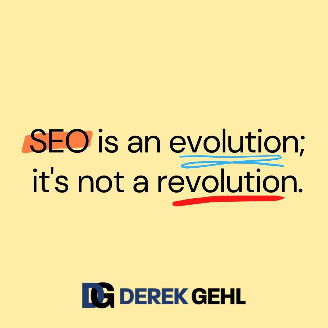 A quote by Derek Gehl about Search Engine Optimization